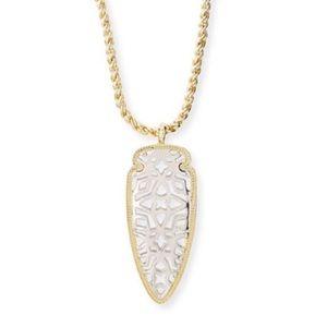 Kendra Scott Sienna Arrowhead Necklace